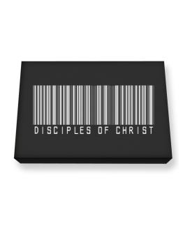 Disciples Of Christ - Barcode Canvas square