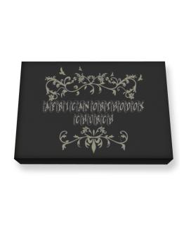 African Orthodox Church Canvas square