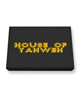 House Of Yahweh Canvas square
