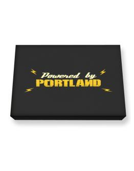 Powered By Portland Canvas square