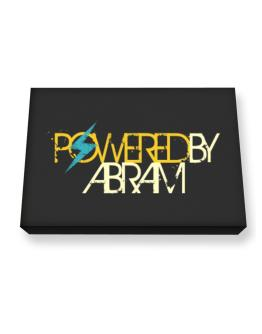 Powered By Abram Canvas square