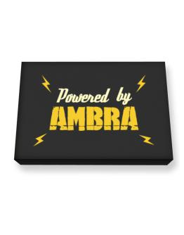 Powered By Ambra Canvas square