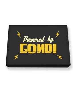 Powered By Gondi Canvas square