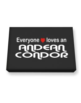 Everyones Loves Andean Condor Canvas square
