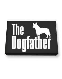 The dogfather Australian Cattle Dog Canvas square