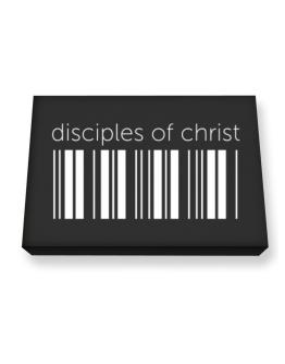 Disciples Of Christ barcode Canvas square