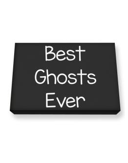 Best Ghosts ever Canvas square