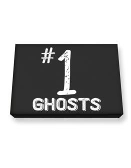 Number 1 Ghosts Canvas square
