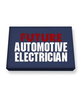 Future Automotive Electrician Canvas square