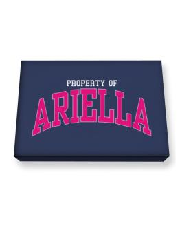 Property Of Ariella Canvas square