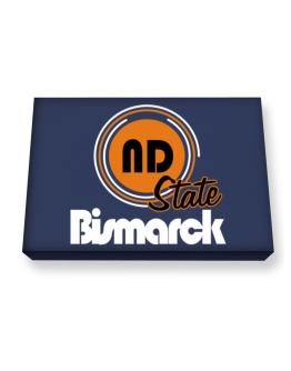 Bismarck - State Canvas square