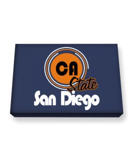 San Diego - State Canvas square