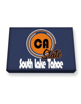 South Lake Tahoe - State Canvas square
