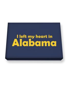 I Left My Heart In Alabama Canvas square