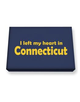 I Left My Heart In Connecticut Canvas square