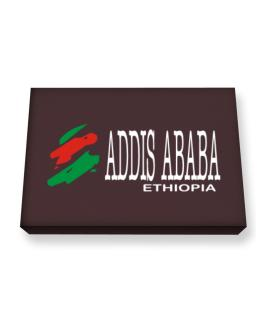 Brush Addis Ababa Canvas square