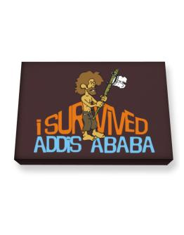 I Survived Addis Ababa Canvas square