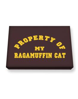 Property Of My Ragamuffin Canvas square