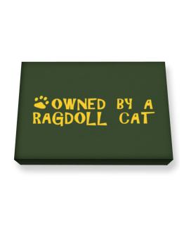 Owned By A Ragdoll Canvas square