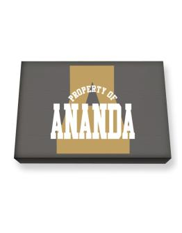 Property Of Ananda Canvas square