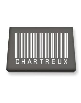 Chartreux Barcode Canvas square