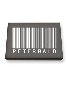 Peterbald Barcode Canvas square