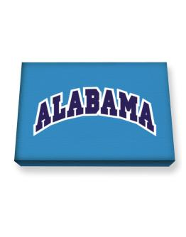 Alabama Classic Canvas square