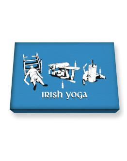 Irish Yoga Canvas square