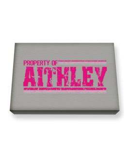 Property Of Aithley - Vintage Canvas square