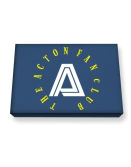The Acton Fan Club Canvas square
