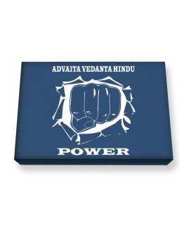 Advaita Vedanta Hindu Power Canvas square