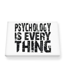 Psychology Is Everything Canvas square