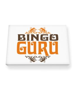 Bingo Guru Canvas square