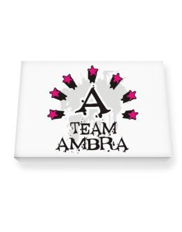 Team Ambra - Initial Canvas square