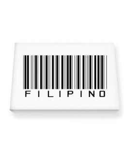 Filipino Barcode Canvas square