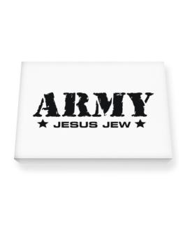Army Jesus Jew Canvas square