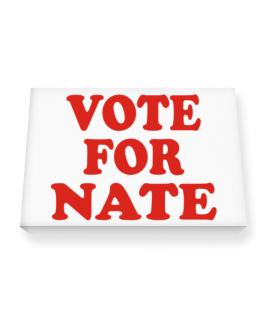 Vote For Nate Canvas square