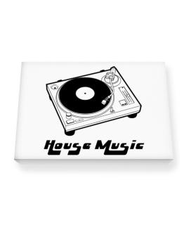 Retro House Music - Music Canvas square