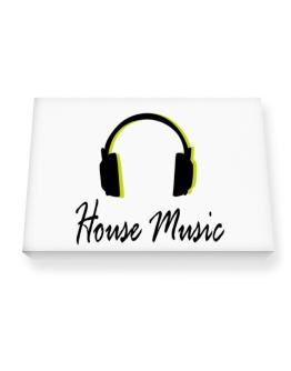 Listen House Music Canvas square