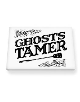 Ghosts tamer Canvas square