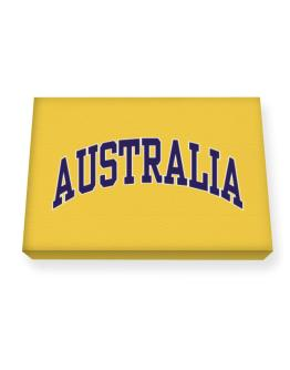Australia - Simple Canvas square