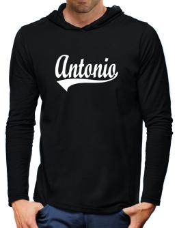 Antonio Hooded Long Sleeve T-Shirt-Mens