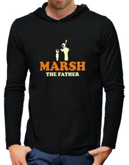 Marsh The Father Hooded Long Sleeve T-Shirt-Mens