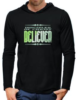 Disciples Of Christ Believer Hooded Long Sleeve T-Shirt-Mens