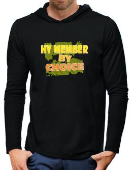 Hy Member By Choice Hooded Long Sleeve T-Shirt-Mens