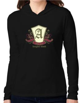 Alroy Knights Blood Hooded Long Sleeve T-Shirt Women