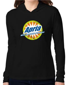 Apria - With Improved Formula Hooded Long Sleeve T-Shirt Women