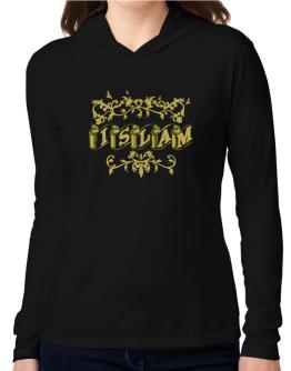 Islam Hooded Long Sleeve T-Shirt Women