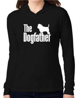 The dogfather Affenpinscher Hooded Long Sleeve T-Shirt Women