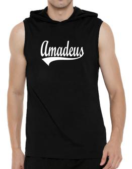 Amadeus Hooded Sleeveless T-Shirt - Mens